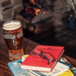 A pint, a real fire and a good book, what more could you want